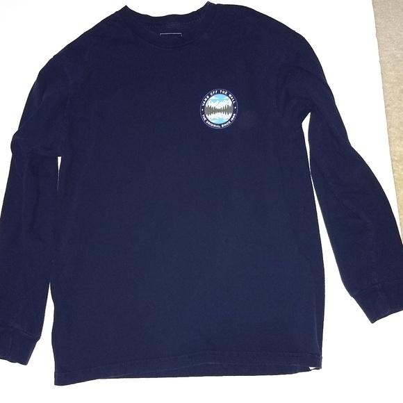 8bf0994610 Vans Classic Fit Cotton Logo Long Sleeve T-shirt